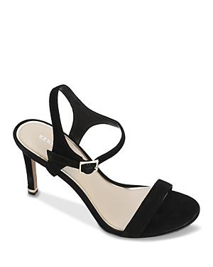 Kenneth Cole Women's Brandy Ankle Strap Sandals In Black
