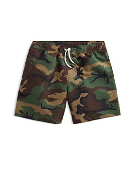 Ralph Lauren - Boys' Traveler Camouflage Swim Trunks - Little Kid, Big Kid