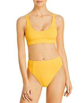 Vitamin A - Sienna Bikini Top & Sienna High Waist Bikini Bottom