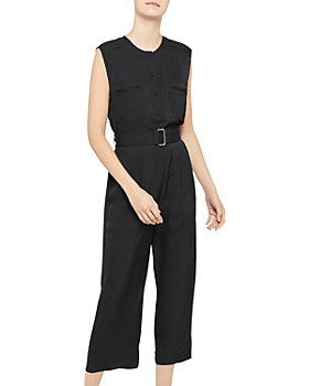 Theory - Cargo Cropped Jumpsuit