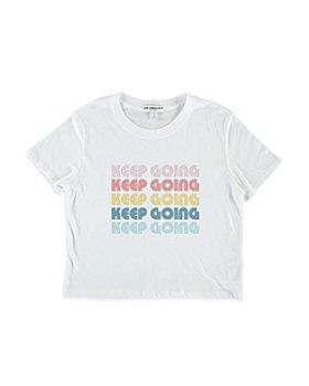 Sub_Urban Riot - Girls' Keep Going Crop Tee - Big Kid