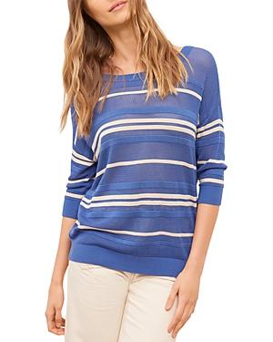 Gerard Darel Elsa Sheer Striped Sweater