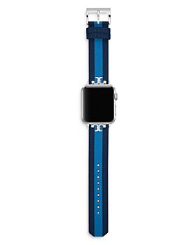 Tory Burch - Striped Strap for Apple Watch®, 38-40mm