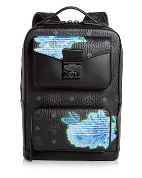 MCM - David Tech Flower Small Backpack