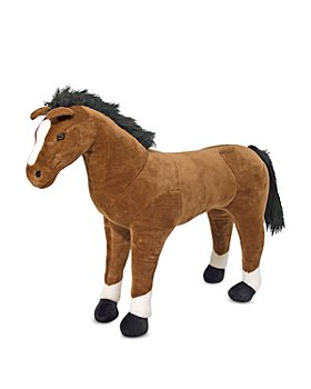 Melissa & Doug - Giant Horse Lifelike Stuffed Animal - Ages 3+