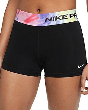 Nike - Tie Dyed Trim Running Shorts