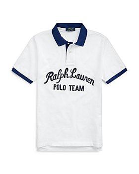 Ralph Lauren - Boys' Embroidered Logo Polo Shirt - Little Kid, Big Kid