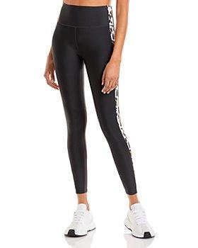 AQUA - Printed Side Stripe Leggings - 100% Exclusive
