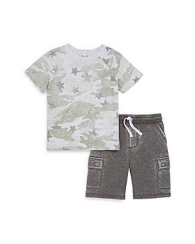 Splendid - Boys' Star Camo Tee and Shorts Set - Little Kid