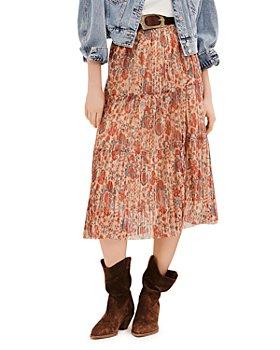ba&sh - Alicante Tiered Midi Skirt