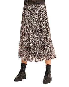 ba&sh - Elliot Printed Midi Skirt