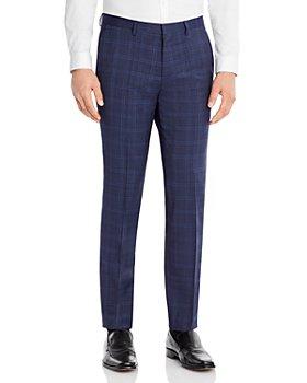 HUGO - Hesten Plaid Extra Slim Fit Suit Pant