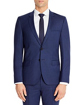 HUGO - Extra Slim Fit Micro Check Suit Jacket