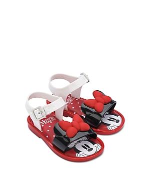 Mini Melissa Girls' Mini Mar Minnie Mouse Sandals - Walker, Toddler