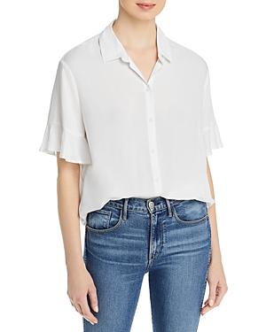 BeachLunchLounge Nisa Ruffled Sleeve Shirt