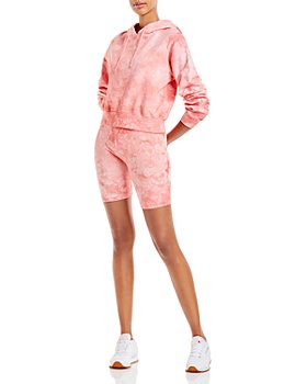 Cotton Citizen - Milan Cropped Hoodie and Biker Shorts