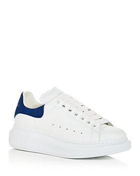 Alexander McQUEEN - Women's Oversized Suede Heel Detail Sneakers