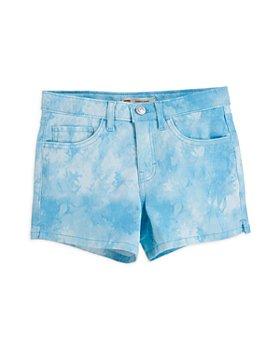 Levi's - Girls' Tie Dyed Shorty Shorts - Big Kid