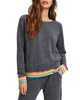 SOL ANGELES - Neon Striped Sweatshirt