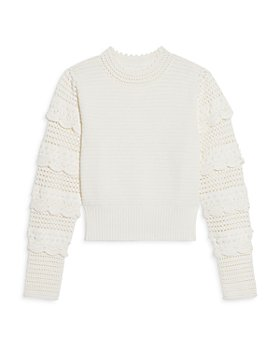 Sandro - Junie Open Knit Sweater