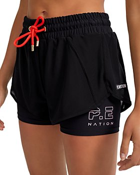 P.E NATION - Point Forward Layered Shorts