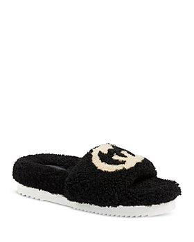 Gucci - Women's Eileen Wool Slide Slippers