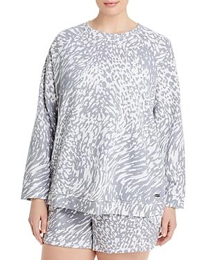 French Terry Raglan Pullover Sweatshirt