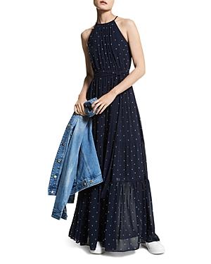 Michael Michael Kors Perfect Dots Halter Maxi Dress