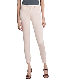 J Brand - 835 Mid-Rise Cropped Skinny Jeans in Prairiee