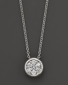 Diamond Cluster Pendant in 14K White Gold, 0.25 ct. t.w. - 100% Exclusive - Bloomingdale's_0