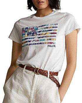 Ralph Lauren - Madras Patchwork Flag Tee