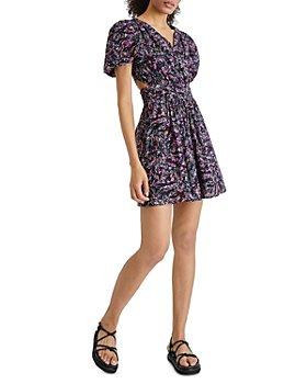 FRENCH CONNECTION - Flores Cotton Cutout Dress