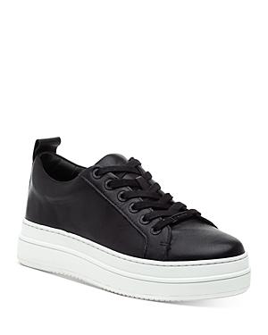 J/Slides Women's Noca Leather Platform Sneakers