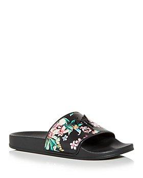 Giuseppe Zanotti - Men's Floral Slide Sandals