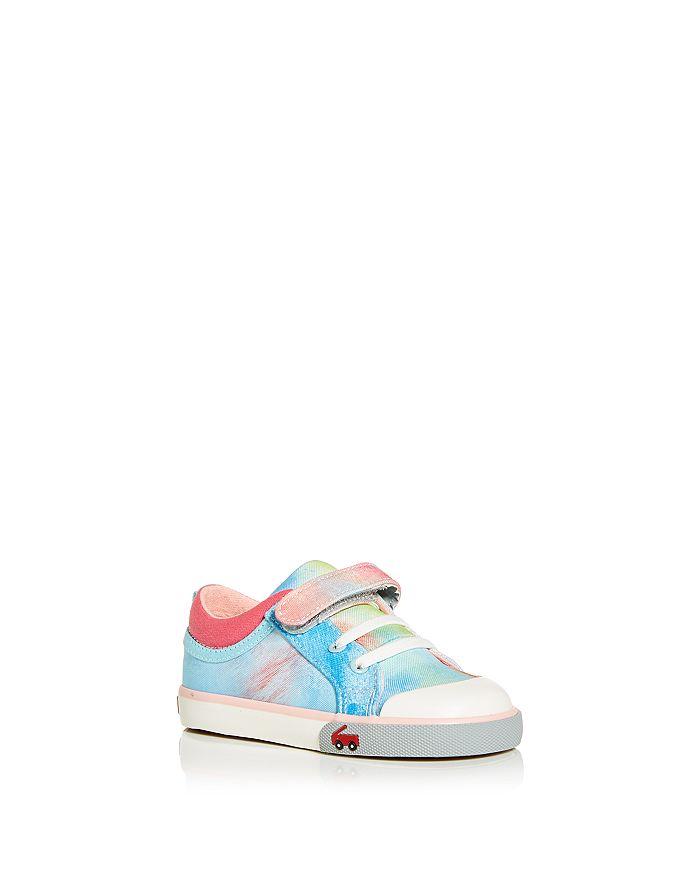 See Kai Run - Girls' Kristin Blue Sky Low Top Sneakers - Walker, Toddler