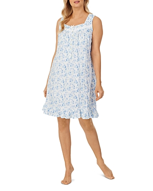 Cotton Short Printed Nightgown