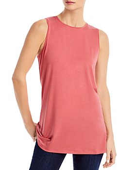 Eileen Fisher - Crewneck Long Tank Top - 100% Exclusive