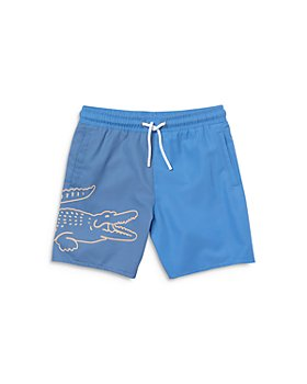 Lacoste - Boys' Big Croc Swim Trunks - Little Kid, Big Kid