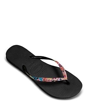 Women's Tropical Slim Flip-Flops