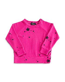 Monrow - Girls' Starry Sweatshirt - Little Kid, Big Kid