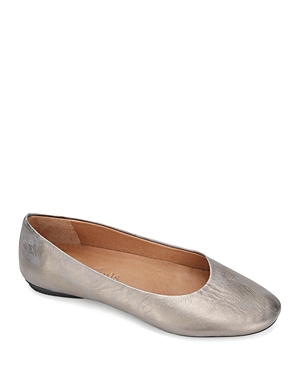 Gentle Souls By Kenneth Cole Leathers GENTLE SOULS BY KENNETH COLE WOMEN'S EUGENE TRAVEL BALLET FLATS