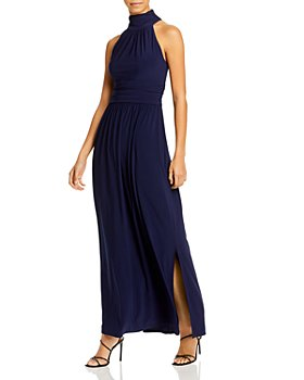 Eliza J - High Neck Sleeveless Long Dress