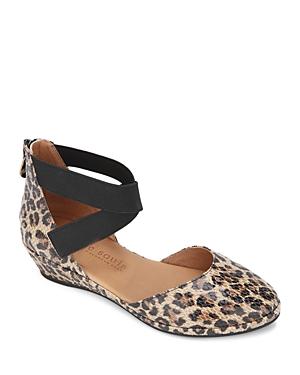 Women's Noa Leopard Print Leather Flats