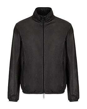 Armani - Reversible Leather to Nylon Jacket