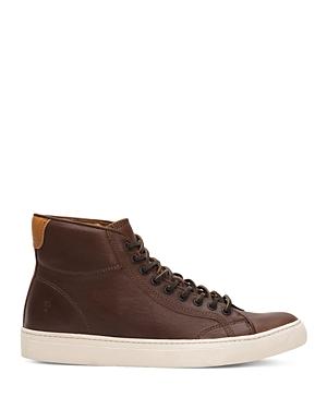 Frye Men's Walker High Top Lace Up Sneakers