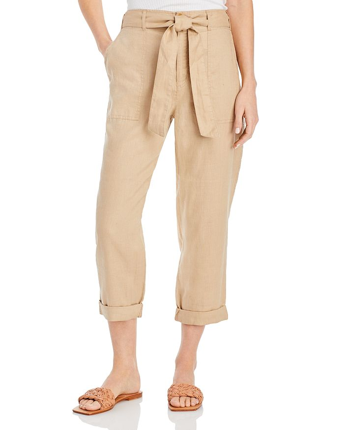 Ralph Lauren - Linen Straight-Leg Pants