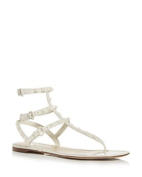 Valentino Garavani - Women's Rockstud Thong Sandals With Tonal Studs
