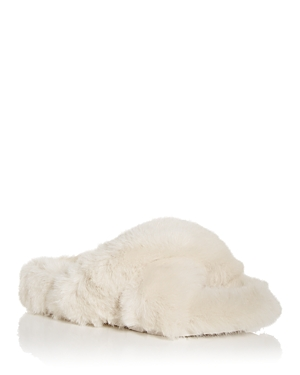 J/Slides Women's Charli Faux Fur Slide Slippers