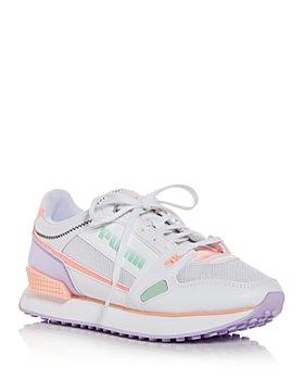 PUMA - Women's Mile Rider Pastel Low Top Sneakers