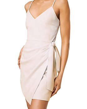 FRENCH CONNECTION - Whisper Faux Wrap Dress